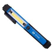 Фонарь светодиодный, в форме ручки, 1+1 элемент, 1,5 В, Li-Ion, 3,7 В KING TONY 9TA28