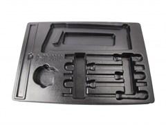 Ложемент для набора напильников, рулетка, линейка и ножовка 9-90408TQ, EVA KING TONY 84714420B