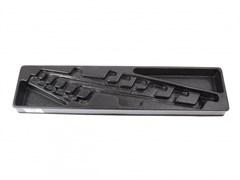 Ложемент для набора накидных ключей 9-1716MR, PVC KING TONY 84730320B