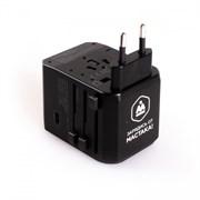 Адаптер переносной 100-240В / 5В USB TYPE-C МАСТАК ADB-201901