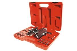 Ключ для гаек ступицы универсальный, 49-143 мм, кейс, 13 предметов