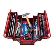 Набор инструментов универсальный, раскладной ящик, 88 предметов