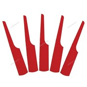 Комплект сменных пилок для лобзиков, 24 зуба, Bi-metal, 10 шт