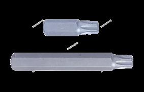 Вставка (бита) торцевая 10 мм, Torx, Т20, L = 80 мм