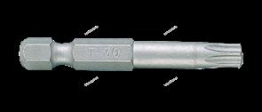 """Вставка (бита) торцевая 1/4"""""""", Torx, Т20, L = 50 мм, для шуруповерта"""