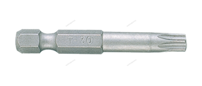 """Вставка (бита) торцевая 1/4"""""""", Torx, Т30, L = 50 мм, для шуруповерта"""