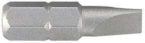 "Вставка (бита) торцевая 1/4"""", Slotted, 4х0,5 мм, L = 25 мм"