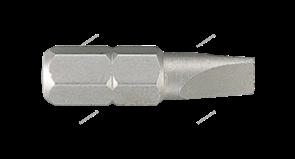 "Вставка (бита) торцевая 1/4"""", Slotted, 5х0,8 мм, L = 25 мм"