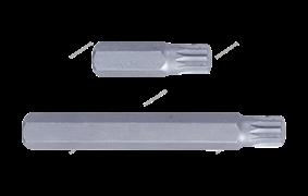 Вставка (бита) торцевая 10 мм, Spline, М8, L = 36 мм