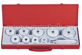 Набор оправок для подшипников и сальников, 39-81 мм, 10 предметов