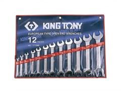 Набор рожковых ключей, 6-32 мм, 12 предметов