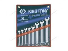 Набор комбинированных ключей, 10-22 мм, 8 предметов